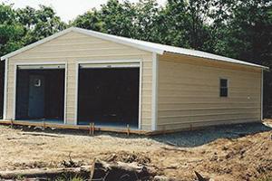 Garage - Vertical Roof