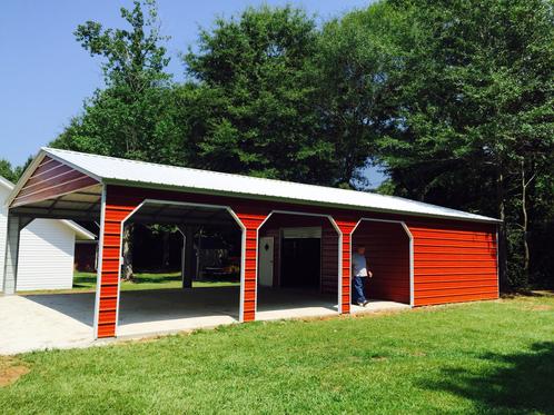 1 Carport Storage Combo Usb Garages Garages
