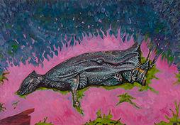 julien brunet, artiste, art contemporain, dessin, drawing, oil painting,