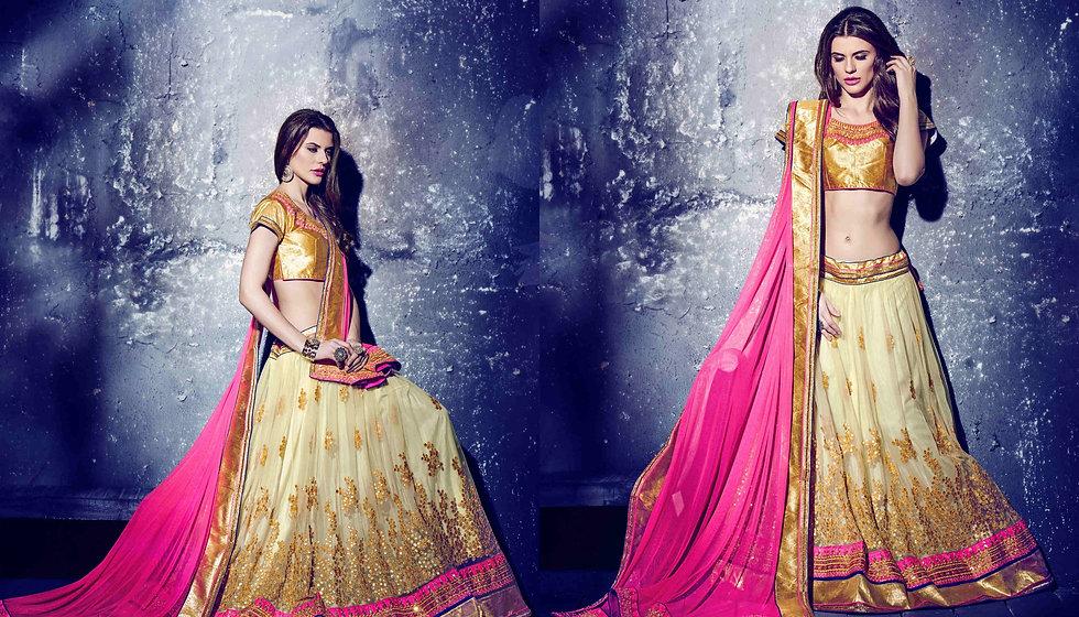 best designer chaniya cholis for navratri ahmedabad