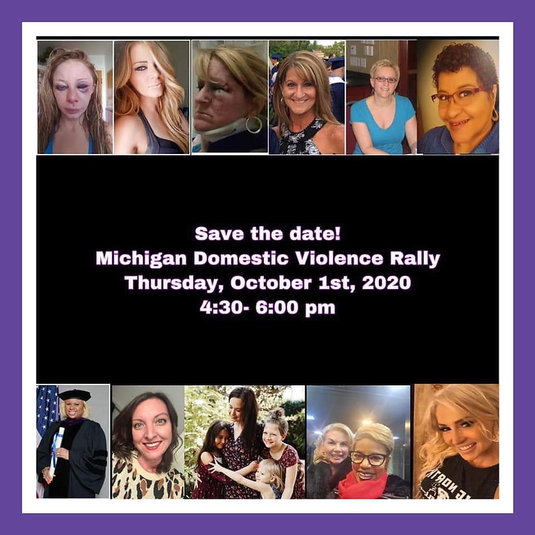 State of Michigan Domestic Violence Rally