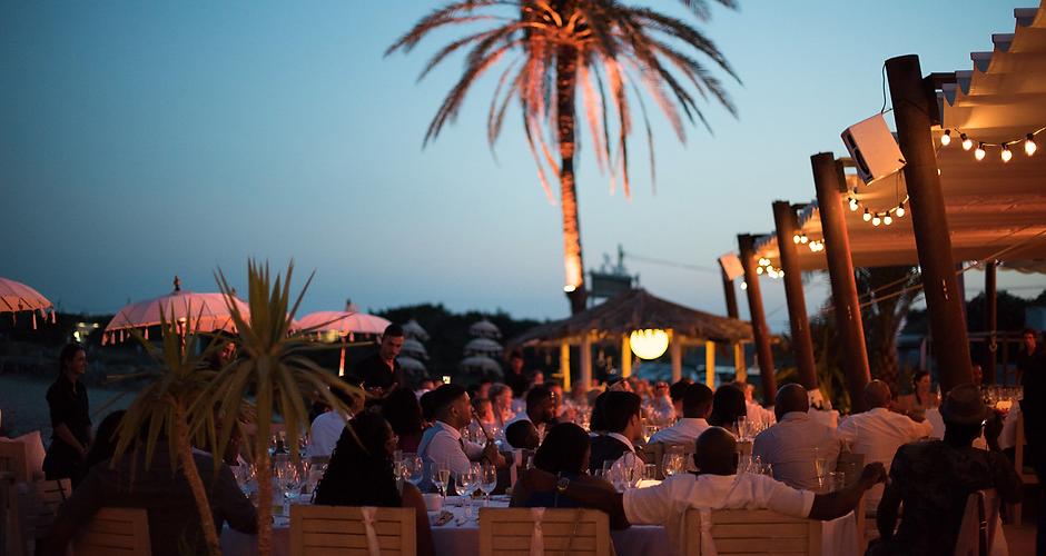 Ibiza terrace life