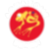 AQUAZONE-logo rond rouge typo blanche-V2