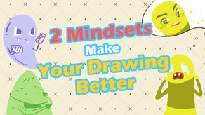 How to Learn Anime Drawing 1 - Two Mindsets Make Your Drawing Better