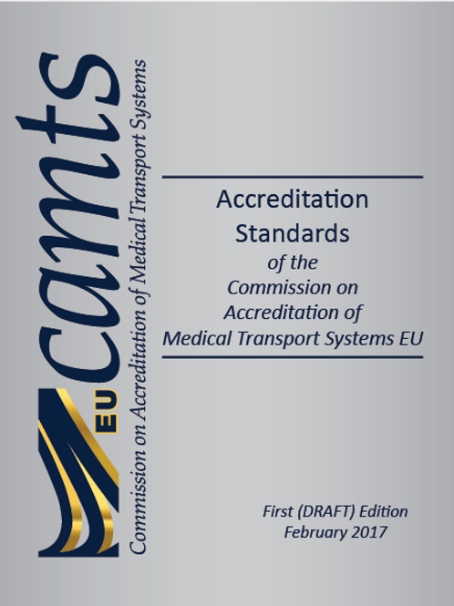 CAMTS EU Accreditation Standards - 1st Edition