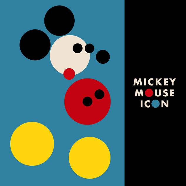 MICKEY MOUSE ICON (WA19)