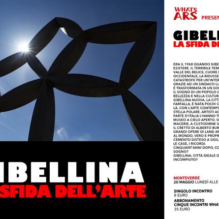 Il 20 maggio, Gibellina: la sfida dell'arte