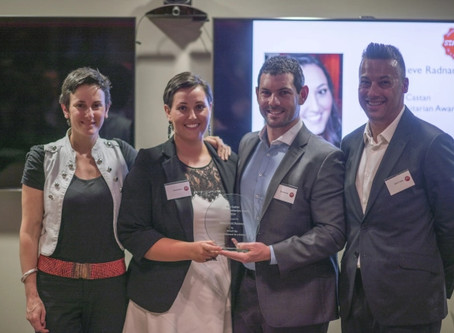A Night at the Ron Castan Young Humanitarian Awards for 2014