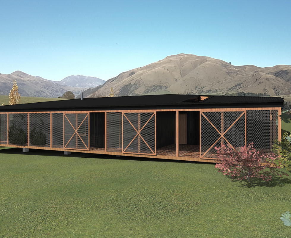 Off Grid House Architectural Project