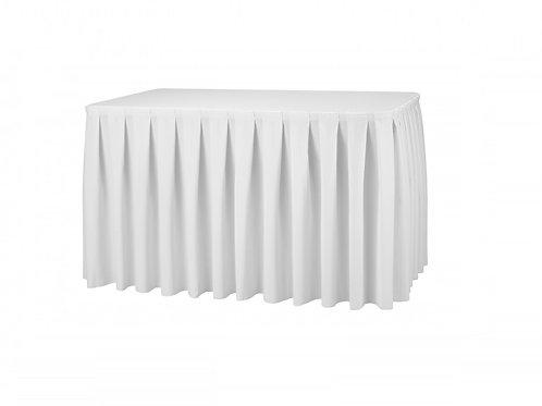 Matt asztalszoknya, asztalkasír 2m