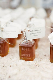 rusztikus ajándék méz