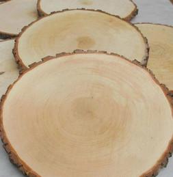rusztikus stílusú fa alátét