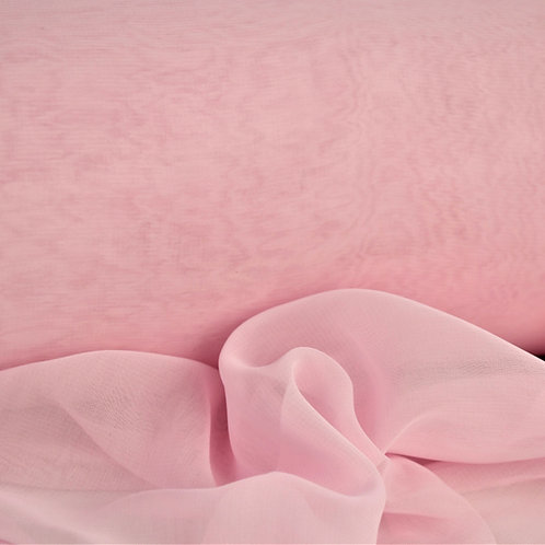 Muszlin mennyezeti anyag rózsaszín 12m x 75cm