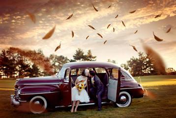 menyasszonyi autó gatsby
