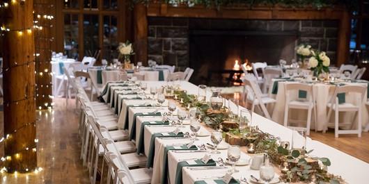 téli esküvő dekoráció