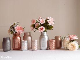 rozégold, pezsgő és ezüst