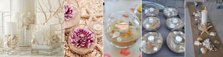 tengerparti esküvői dekoráció