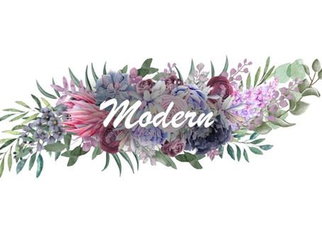 Modern esküvő