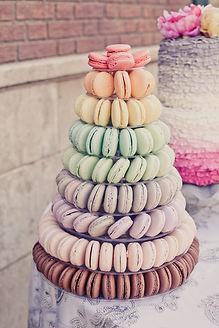 wedding macaron