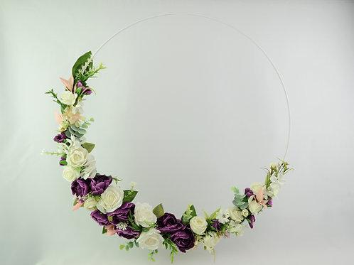 virágkarika 50cm padlizsán