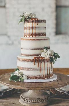 vintage menyasszonyi torta