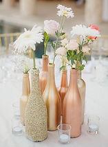 arany, rosegold, pezsgősüveg