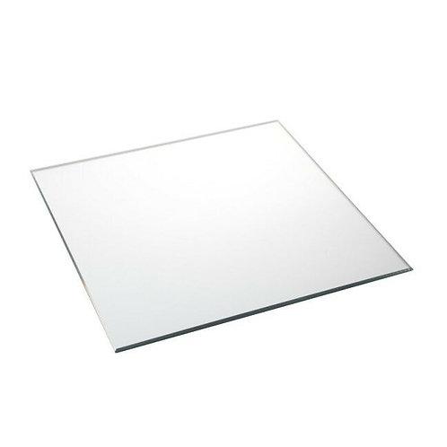 Négyzet tükörlap 25cm