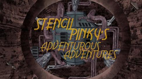 STENCIL PINKY'S ADVENTUROUS ADVENTURES