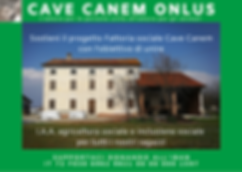 COMPLETO cave canem onlus 5x1000 fattori