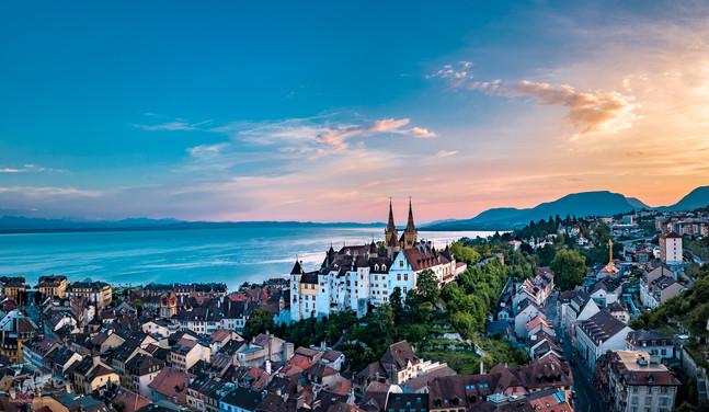 Neuchâtel et son Château