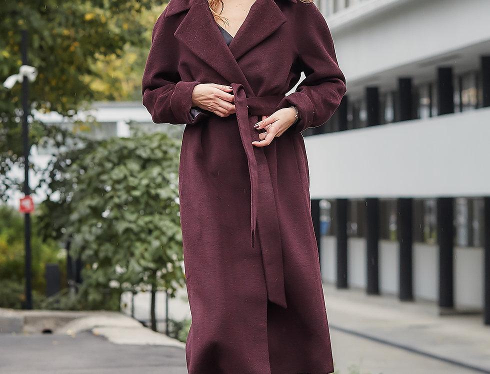 Coat EMILY burgundy