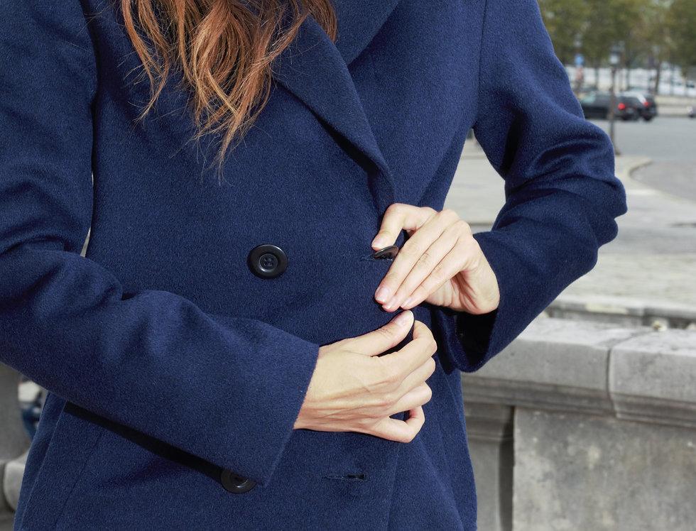 Coat CAMILLA blue