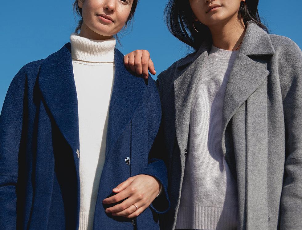 Coat EVA blue