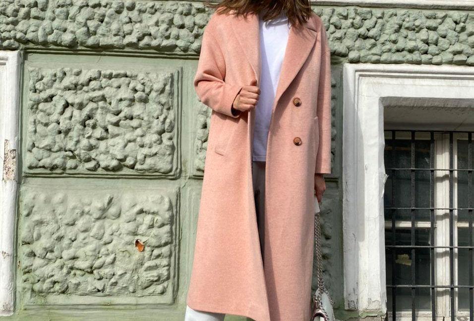 Coat STELLA rose
