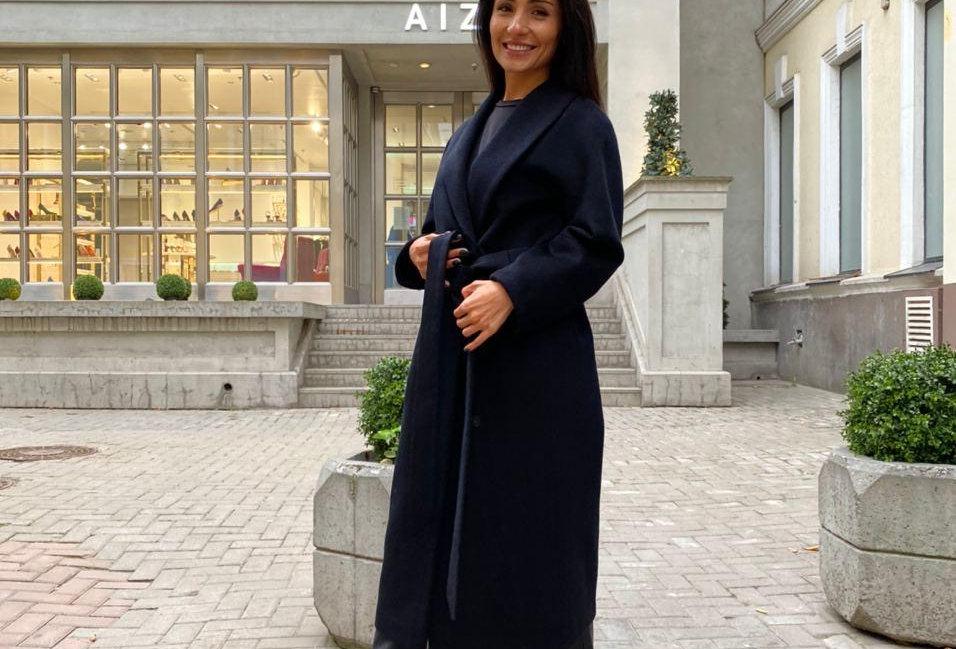 Пальто EVA черное