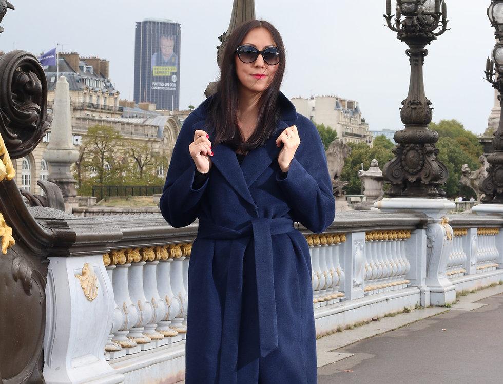 Coat EMILY dark blue