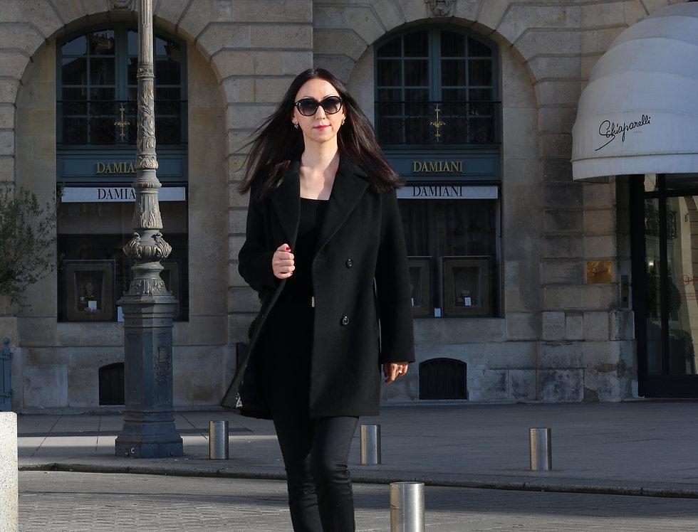 Coat CAMILLA black