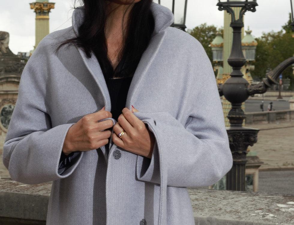 Coat LUISA pearl