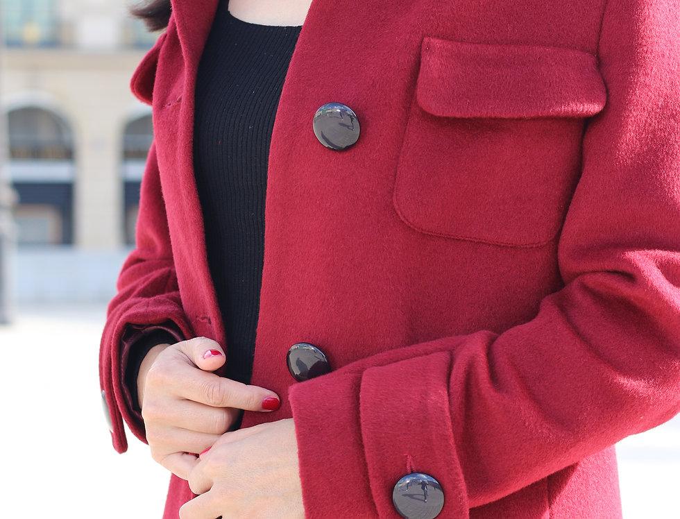 Coat OLGA red