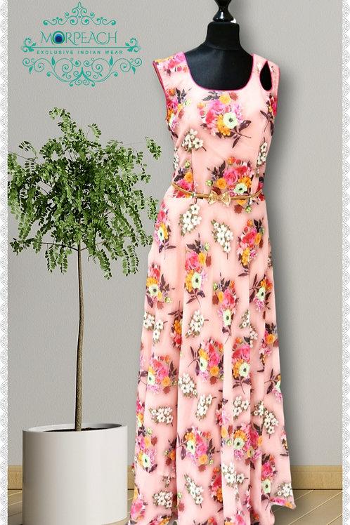 Pink Floral Dress (R)