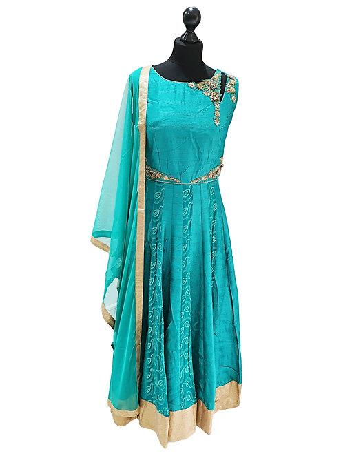Emarald Green Dress