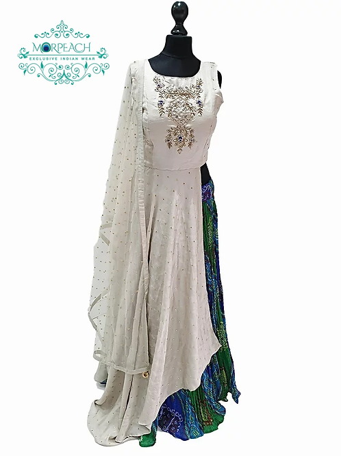 Long top with Skirt Dress