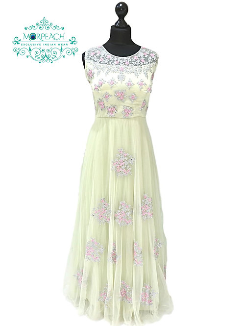 Pastel Green Fairytale Gown (XL)