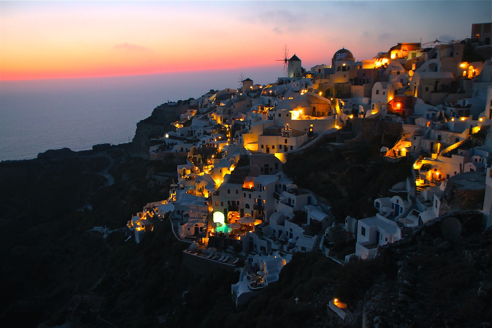 Santorini, Greece - Never Give up on your dreams!