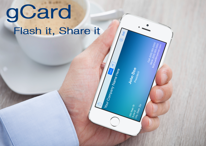 gCard - FREE Electronic business card