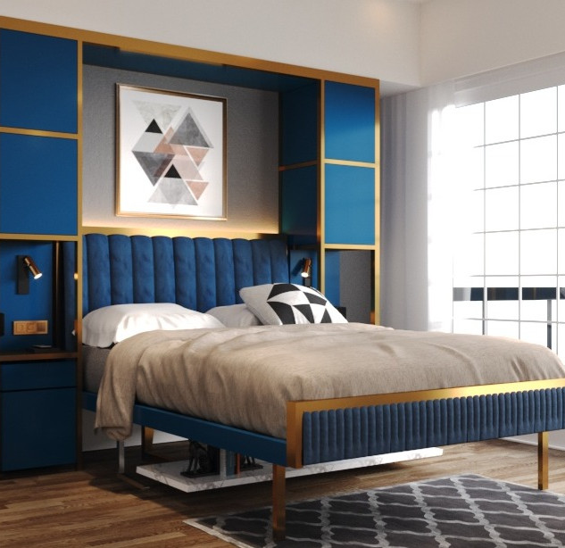OCLO Design: Murphy bed edition in Sapphire