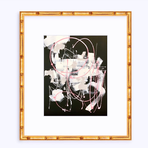 """Roses Are Pink 8""""x10"""