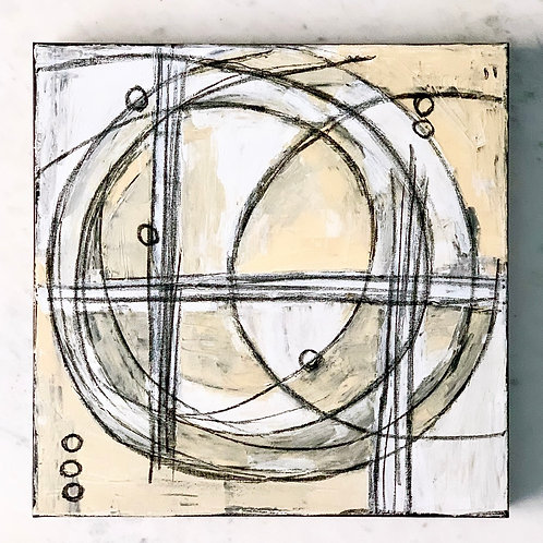 """""""Am I Going In Circles I""""? 16""""x16"""""""