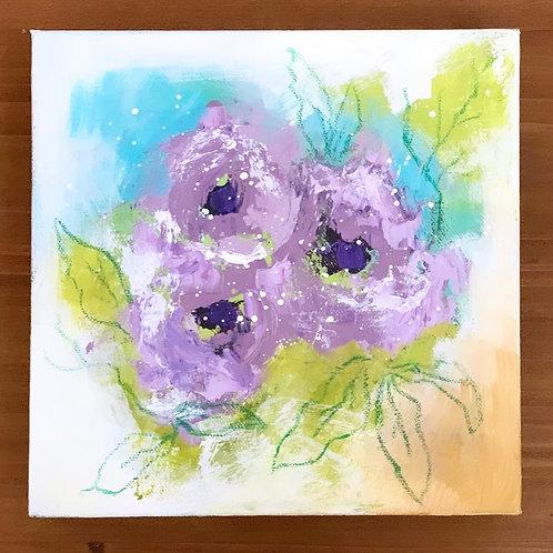 "Lavender Charm 10""x10"""