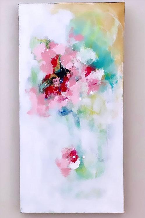 """Pink Bouquet II 15""""x30"""""""